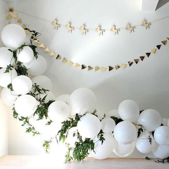 арка из шаров, декор