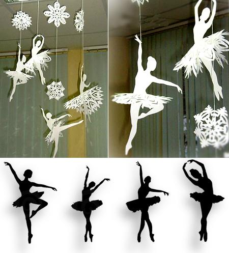 новогоднее украшение, снежинки