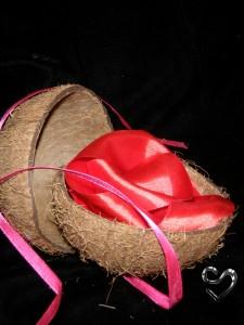 подарок в кокосе
