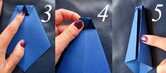 гастук оригами