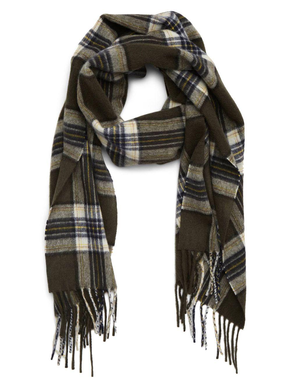 теплый шарф для любимой жены