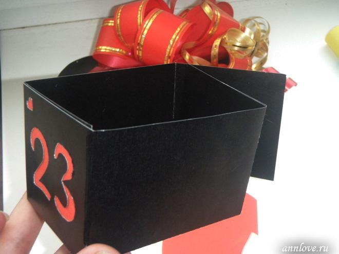 коробка для конфет своими руками