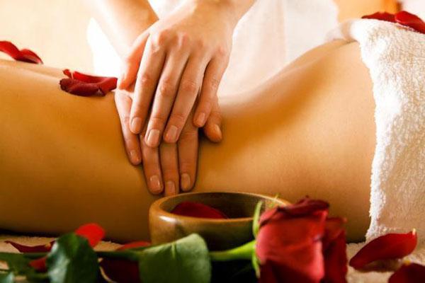 массаж для девушки
