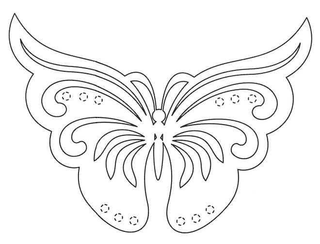 схема бабочки