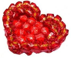 необычный подарок с конфет
