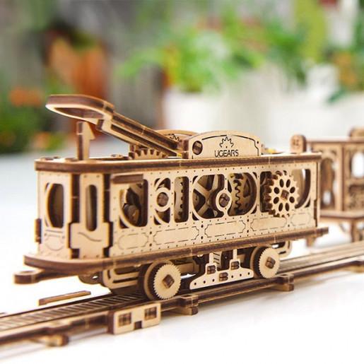 поезд ugears