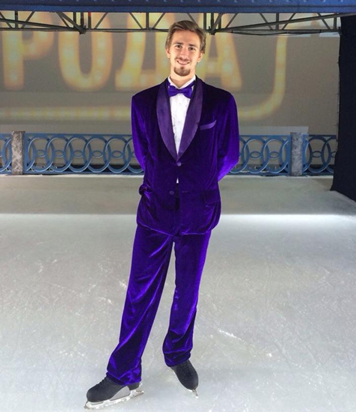 Даниил Глейхенгауз на льду