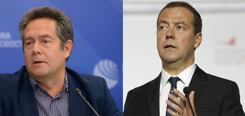 Медведев и Платошкин