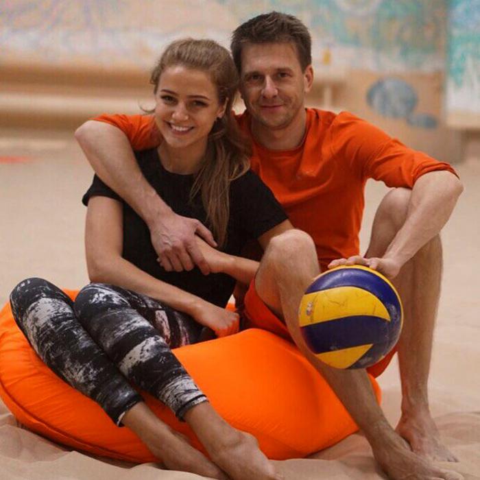 Александр Муратаев и Карина Глазунова