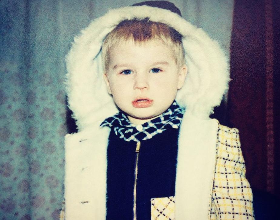 Тимур Ефременков в детстве