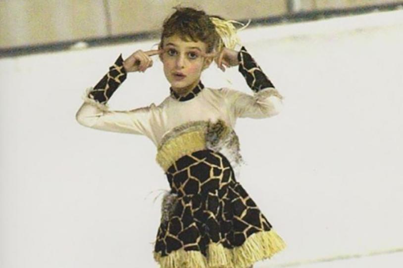 Габриэла Пападакис в детстве