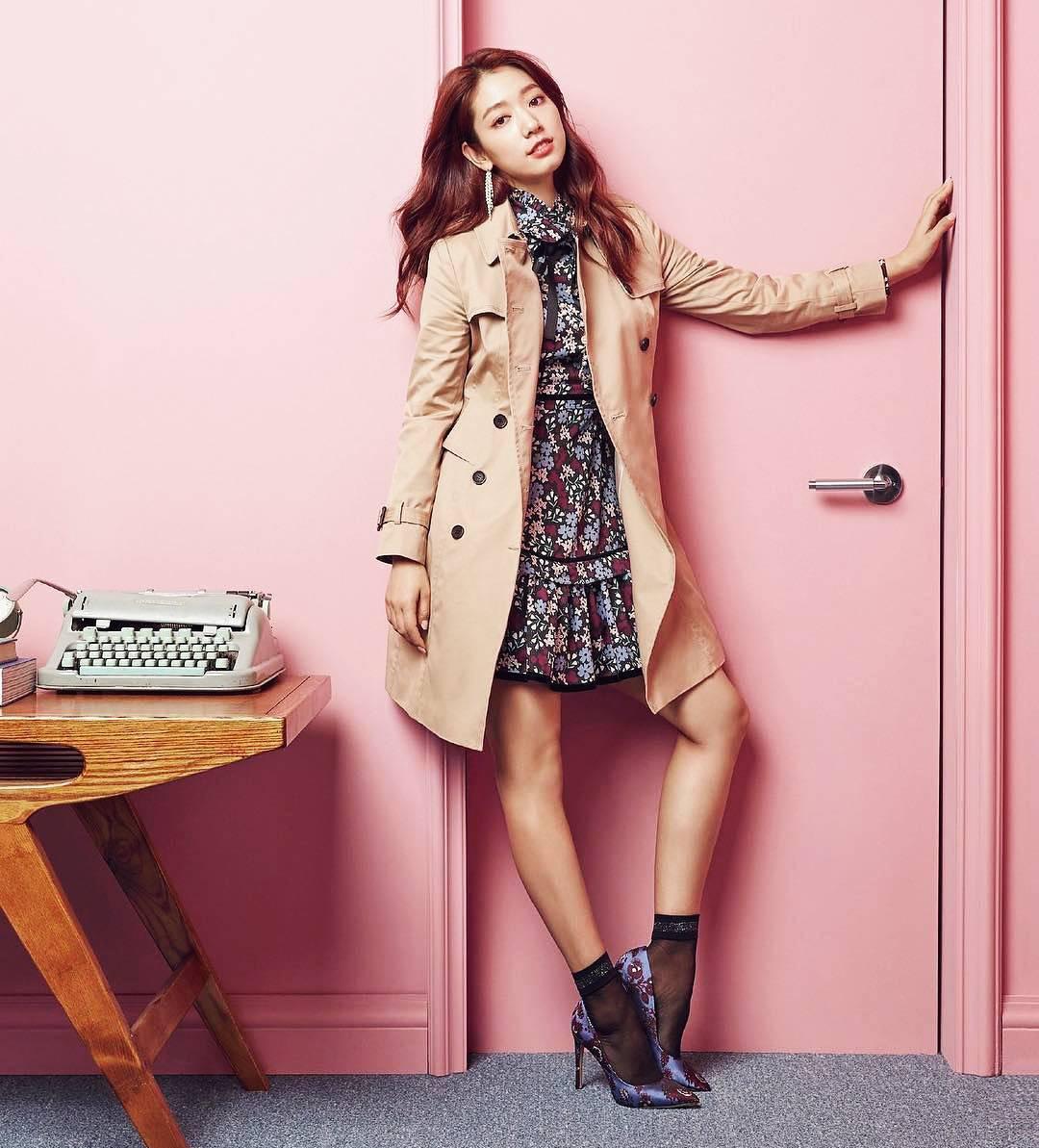 Пак Шин Хе модель