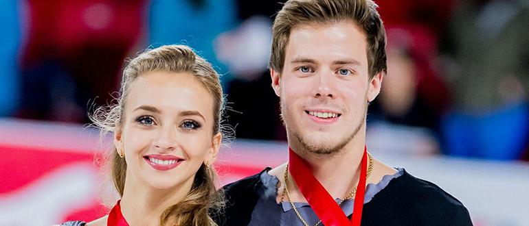 Никита Кацалапов и Виктория Синицына