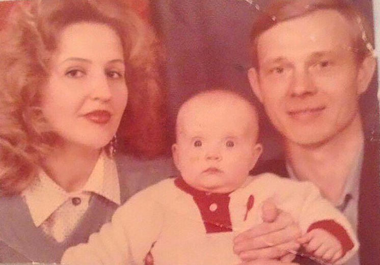 вероника иващенко с мамой и папой