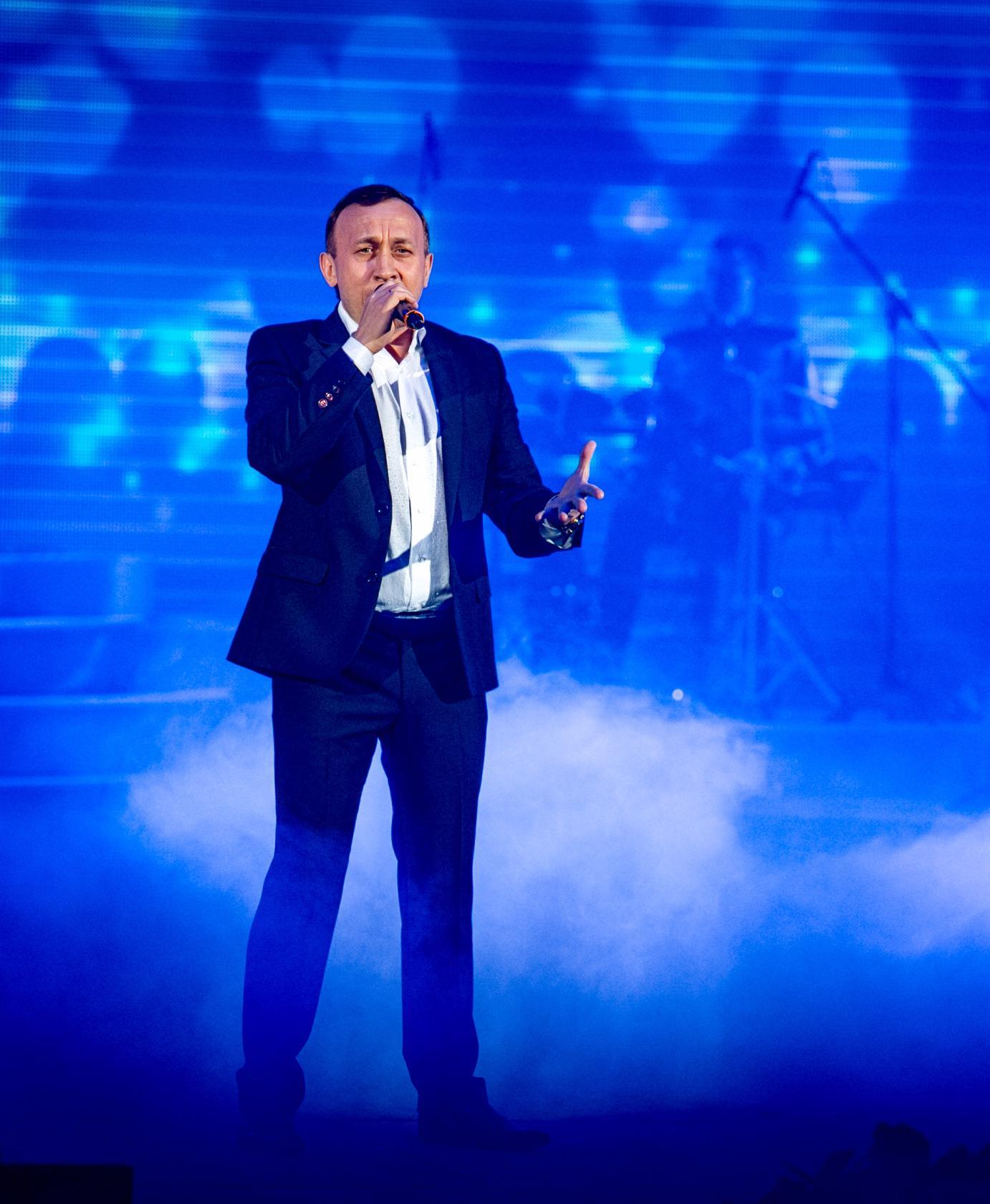певец Марат Шайбаков
